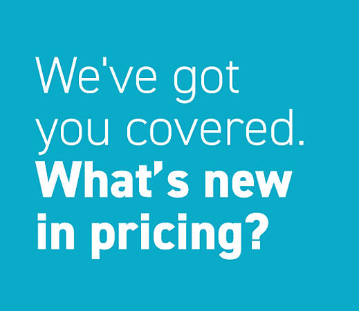 What's new in pricing?
