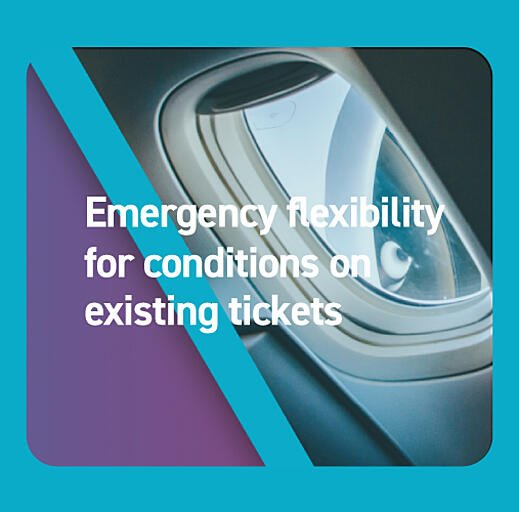 Emergency flexibility for conditions on existing tickets
